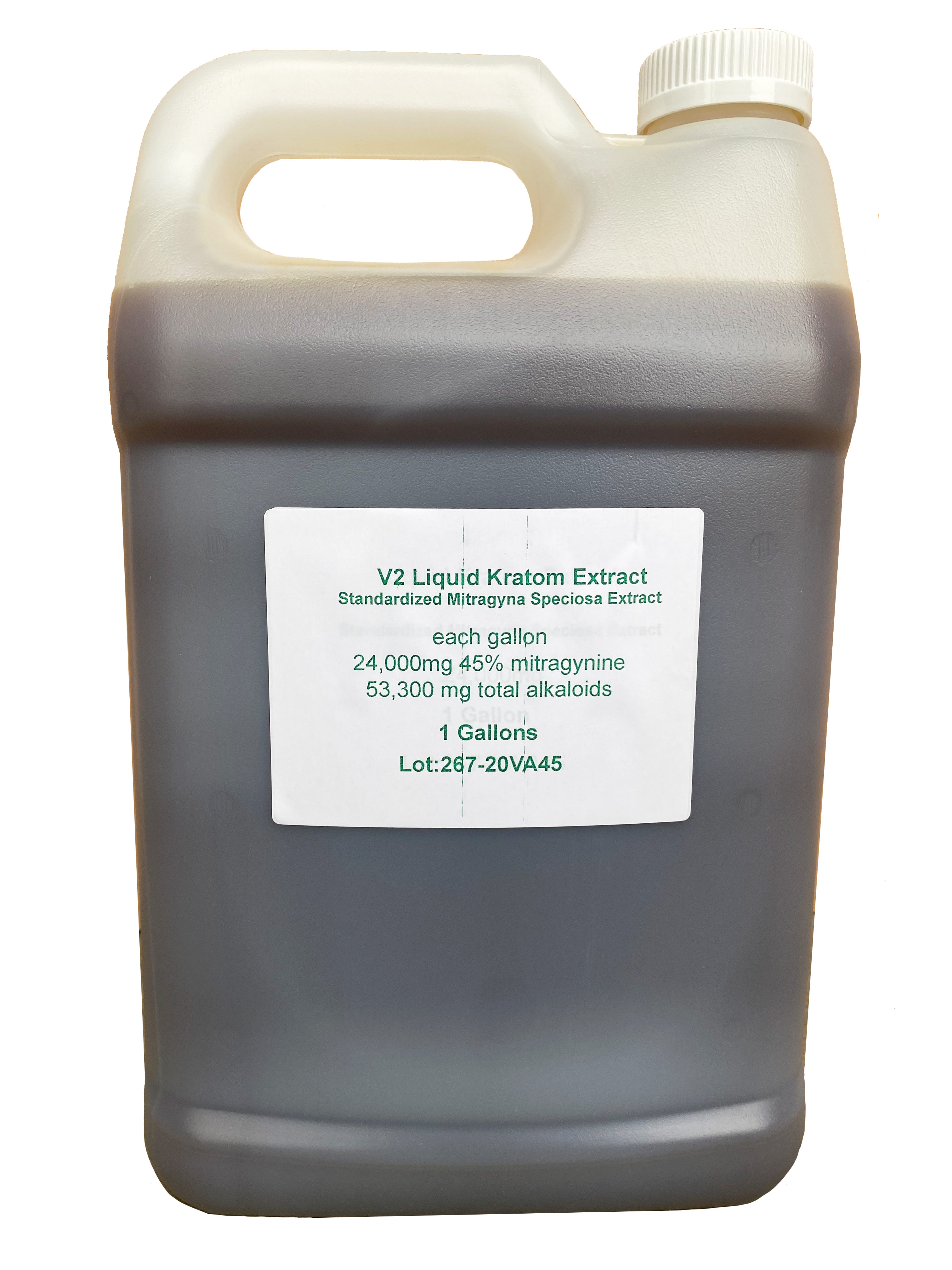 Liquid Kratom Extract 45% V2 Gallon